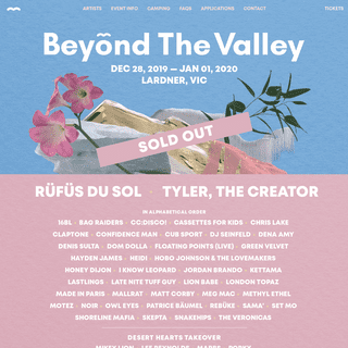 Beyond The Valley 2019