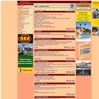 www.obednemenu.sk - denné menu (obedné menu, obedové menu) vo Vašom meste