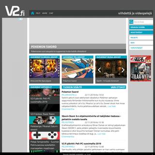V2.fi -- Viihdettä & Videopelejä