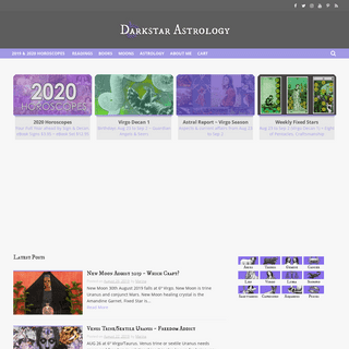 Darkstar Astrology - Myth, Magic, Moons, Stars....