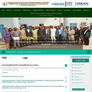 Niger Delta Budget Monitoring Group