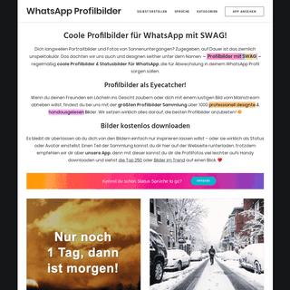 Coole Profilbilder für WhatsApp kostenlos downloaden -D