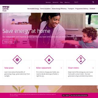 Save energy at home - Energy Saving Trust