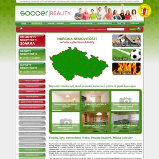 ArchiveBay.com - soccer-reality.cz - Nabídka nemovitostí - Soccer Reality