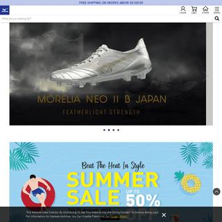 ArchiveBay.com - mizuno.asia - MIZUNO Official Online Store SG - SPORT Shoes, Wear & Gear