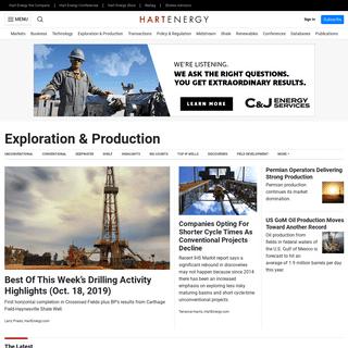 Exploration & Production - Hart Energy