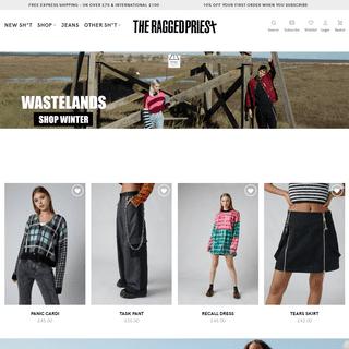 The Ragged Priest – UK Fashion Brand