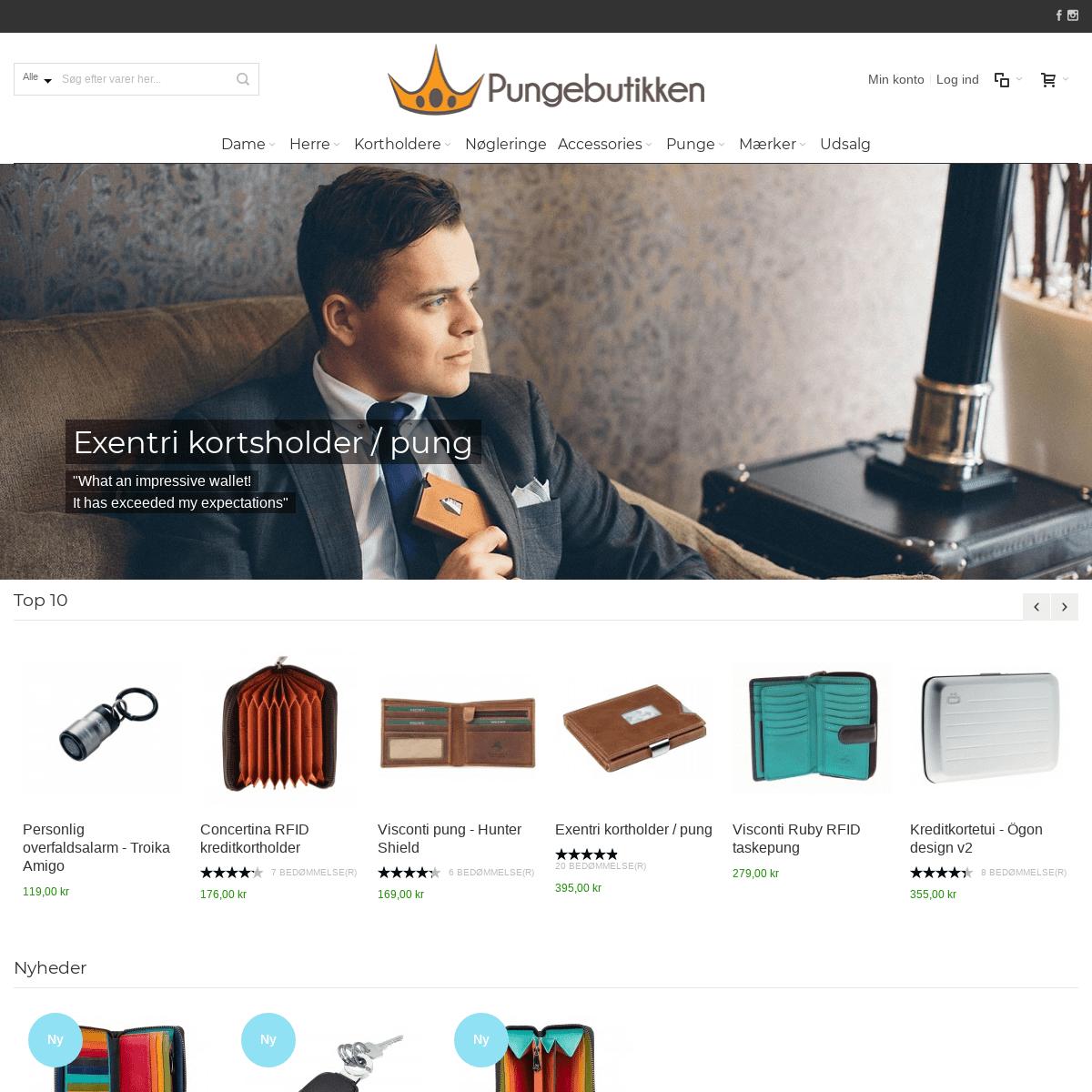 Køb Pung online - Pungebutikken