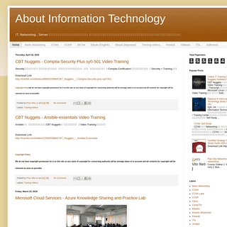 About Information Technology