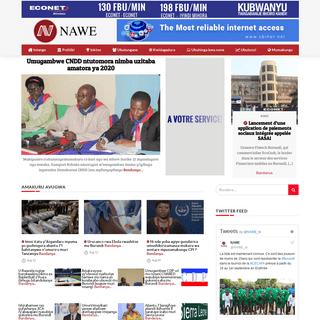 Agence NAWE - Burundi