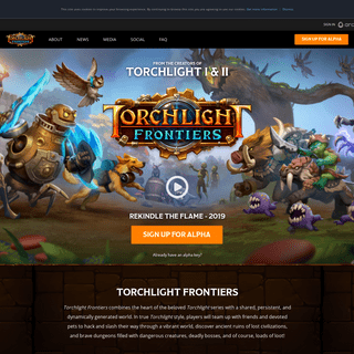 Torchlight Frontiers - Available 2019