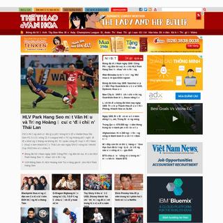 Thể thao & Văn hóa - tin tức, bình luận thể thao, giải trí online - TTVH Online