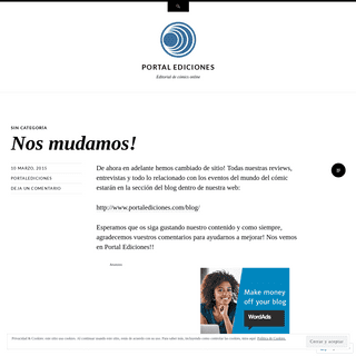 Portal Ediciones - Editorial de cómics online