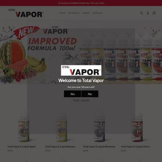 Total Vapor – Total Vapor, LLC