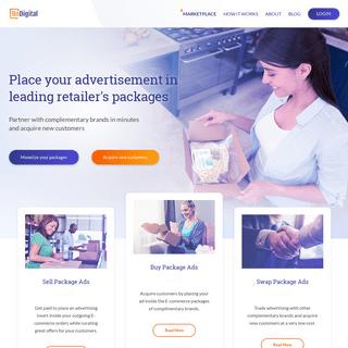 ArchiveBay.com - undigital.com - UnDigital - Package insert advertising marketplace