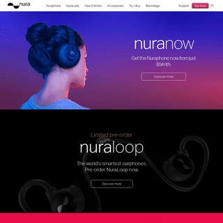 nuraphone - Music in Full Colour™ - Personalized sound