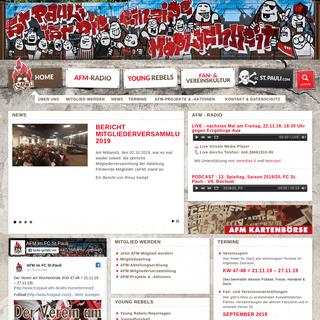 Abteilung Fördernde Mitglieder im FC St. Pauli e.V. - AFM