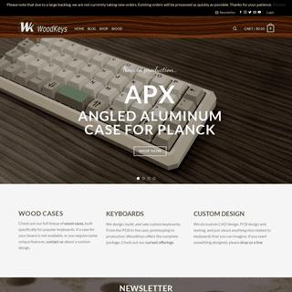 WoodKeys – Custom keyboards with class