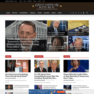 Great American Republic • Articulating American Principles & Values