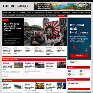 ArchiveBay.com - thediplomat.com - The Diplomat Magazine - Read The Diplomat, Know the Asia-Pacific