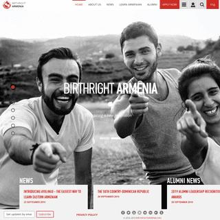 Do Internships & Volunteer in Armenia - Birthright Armenia