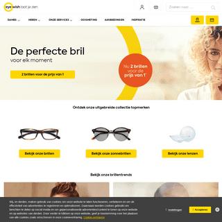 De grootste collectie brillen en zonnebrillen - Eye Wish Opticiens