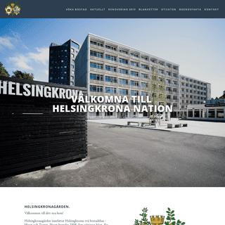 Helsingkronagården - Studentlägenheter och Utsikten konferens och festlokal i Lund