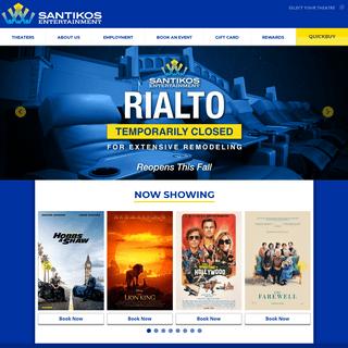 Movies in San Antonio - Showtimes & Tickets - Santikos