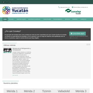 Colegio Nacional de Educación Profesional Técnica -- Gobierno del Estado de Yucatán