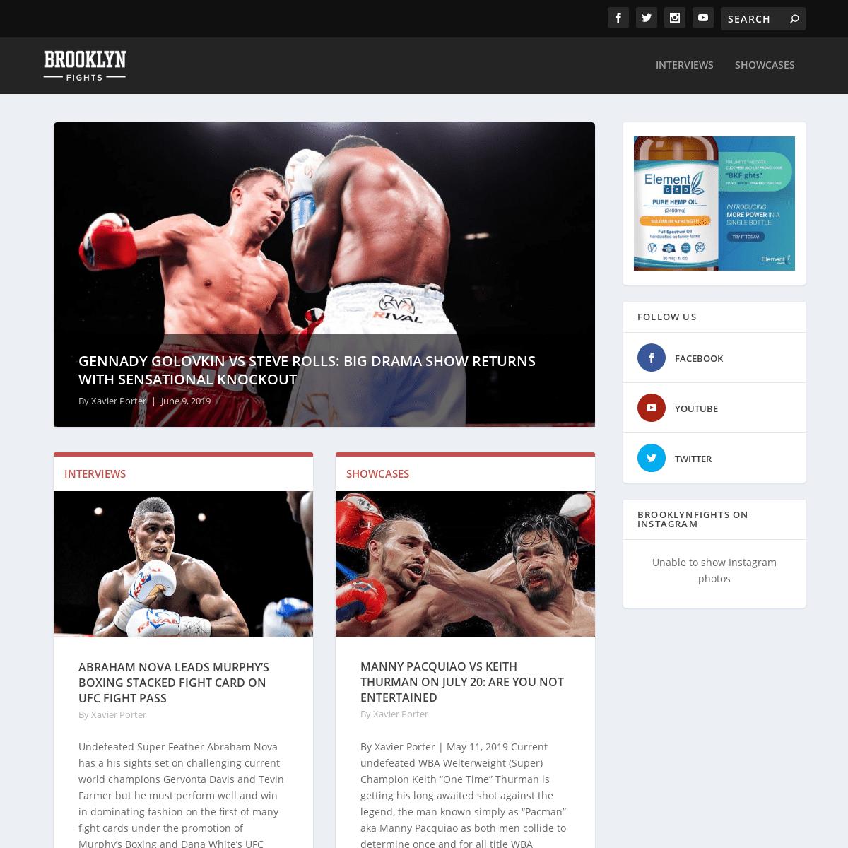 ArchiveBay.com - brooklynfights.com - BrooklynFights - Combat Sports News and Info