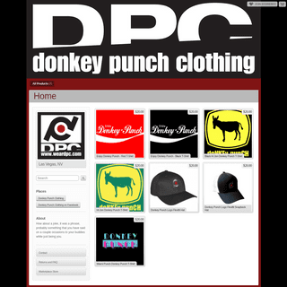 Donkey Punch Clothing - Home - Online Store Powered by Storenvy