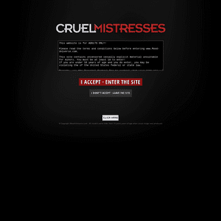 ArchiveBay.com - cruel-mistresses.com - This website is for ADULTS ONLY