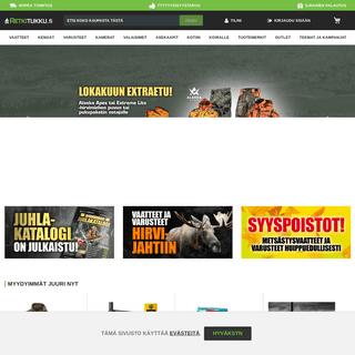 Retkitukku.fi - Kaikki metsästykseen ja retkeilyyn edullisesti