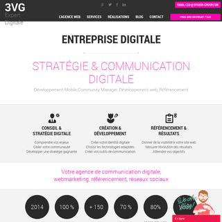 3Vision-Group- Enteprise Digitale Expertise - Site internet - Application Web - App Mobile