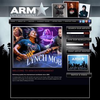 ArchiveBay.com - armentertainment.com - Artist Representation and Management - Home