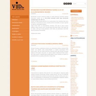 VID.lv - VID.lv - Vienotie Internet Dati