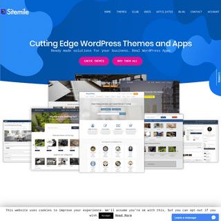 WordPress Premium Themes and Apps - SiteMile.com