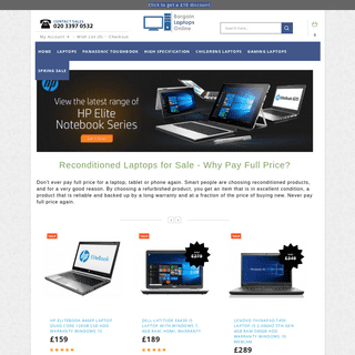 ArchiveBay.com - bargainlaptopsonline.co.uk - Bargain Laptops. Reconditioned laptops for sale. Cheap laptops in the UK.