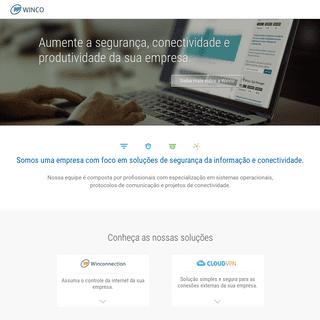 Winco Sistemas - soluções de segurança digital corporativa