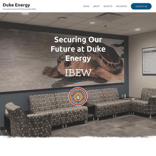 Duke Energy – Customer Service Professionals Unite
