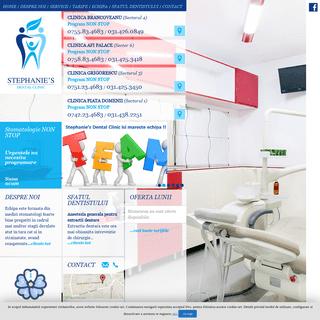 ArchiveBay.com - mediculstomatolog.ro - Stephanie's Dental Clinic – Stomatologie non stop – Cabinet Stomatologic Bucuresti