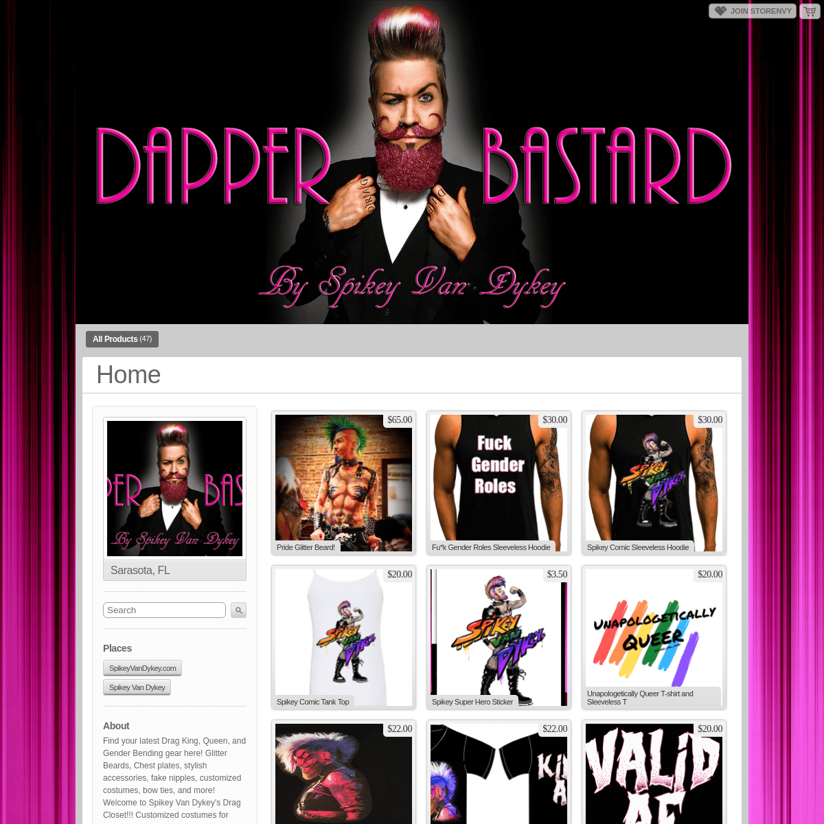The Dapper Bastard - Home - Online Store Powered by Storenvy