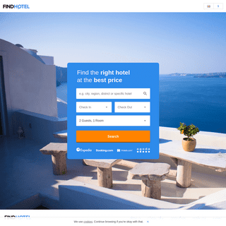 FindHotel- We help you find the right hotel at the best price!