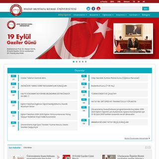 ArchiveBay.com - mku.edu.tr - Hatay Mustafa Kemal Üniversitesi