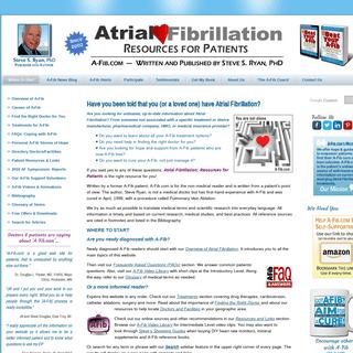 Atrial Fibrillation- Resources for Patients