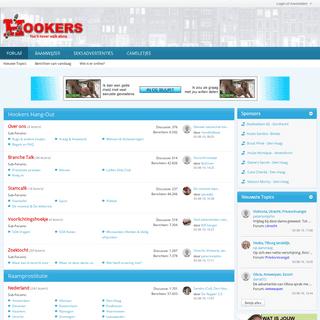Forum vol met ervaringen over prostituees - Hookers.nl