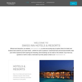 SWISS INN HOTELS & RESORTS
