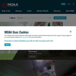 MOAA - Home