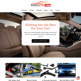 Best Products Reviews for all Your Car Needs by Wheelstips.com