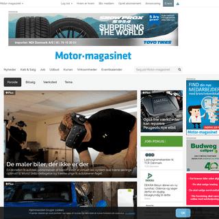 Nyheder - Motor-magasinet